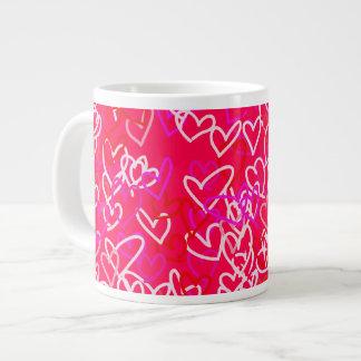 Hearts Extra Large Mugs