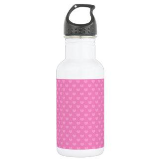 Hearts Stainless Steel Water Bottle