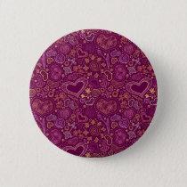 Hearts Standard, 2¼ Inch Round Button