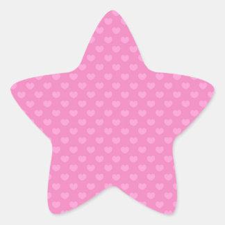 Hearts Star Sticker