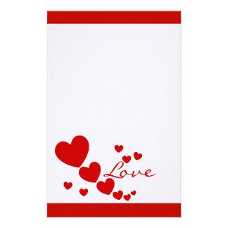 Hearts Custom Stationery