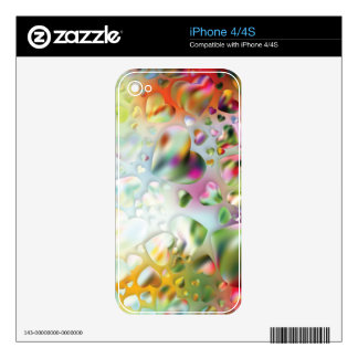 HEARTS SWEET SPOT SKIN FOR iPhone 4