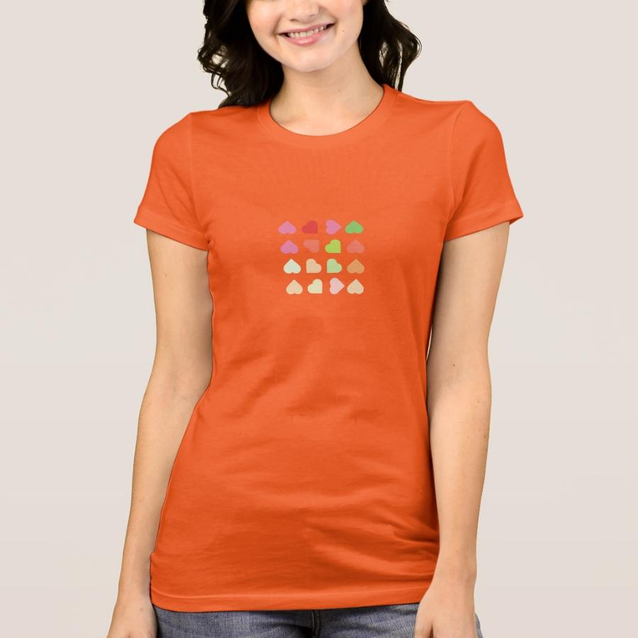 hearts T-Shirt - Best Selling Long-Sleeve Street Fashion Shirt Designs