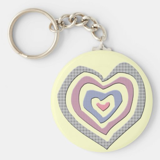 Hearts T-shirts and Gifts Keychains