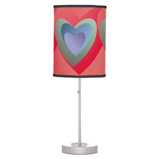 Hearts Table Lamp