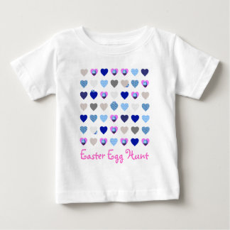 Hearts Template for Children Baby T-Shirt