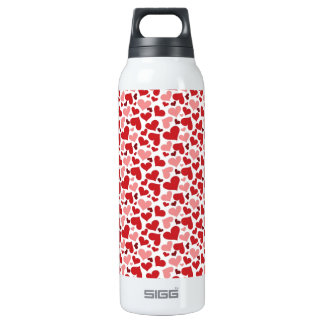 Hearts Thermos Water Bottle