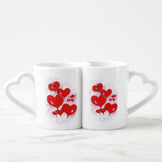 hearts to hearts coffee mug set