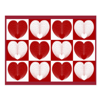 Hearts To You Postcard