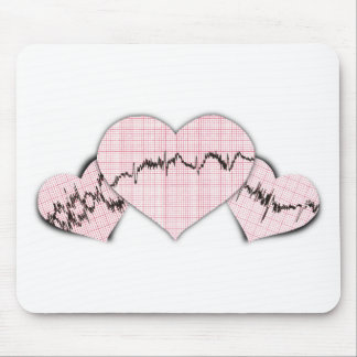 Hearts Together Mouse Pad