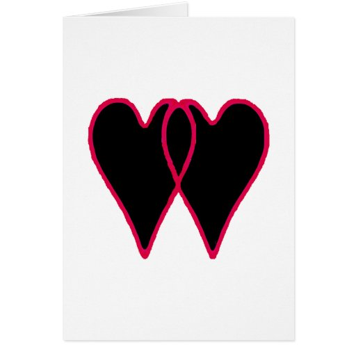 Hearts Together The MUSEUM Zazzle Gifts Card