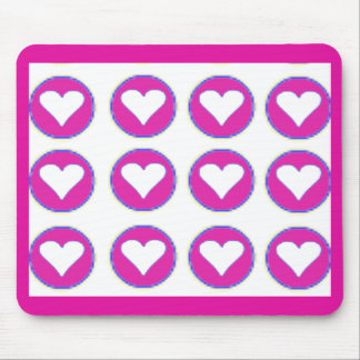 Hearts Together The MUSEUM Zazzle Gifts Mouse Pad