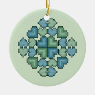 Hearts Touch Ornament