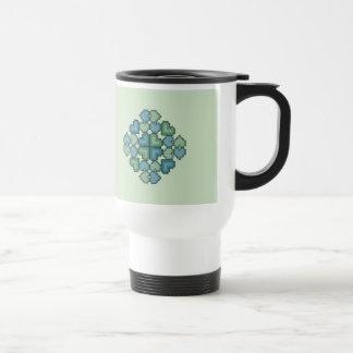 Hearts Touch Travel Coffee Mug