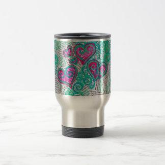 Hearts Traveler Mug