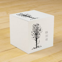 Hearts Tree Favor Box