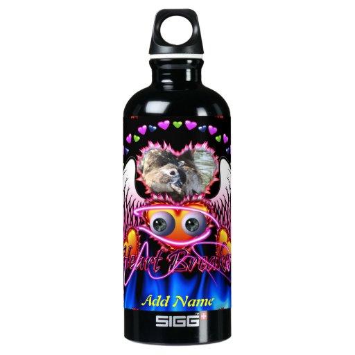Hearts Trio in fire and angel wings Heart Breaker SIGG Traveler 0.6L Water Bottle