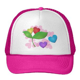 Hearts Trucker Hats