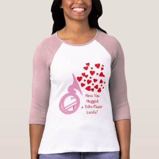 Hearts Tuba T-Shirt