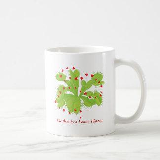 Hearts & Venus Flytrap Coffee Mug