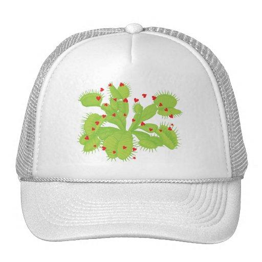 Hearts & Venus Flytrap Mesh Hat