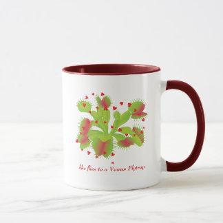 Hearts & Venus Flytrap Mug