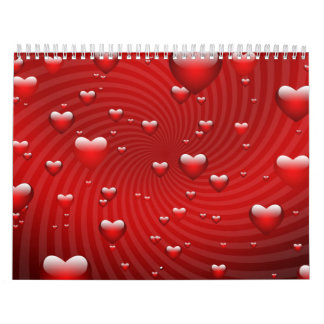 Hearts whirlpool calendars