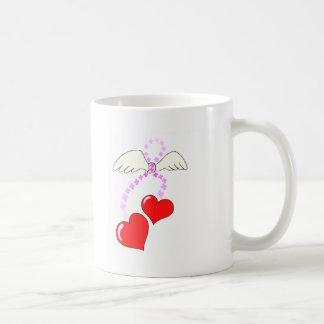 Hearts (Wings) Classic White Coffee Mug