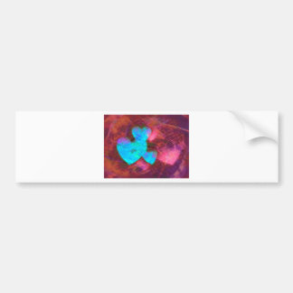 Hearts with a secret gifts bumper sticker