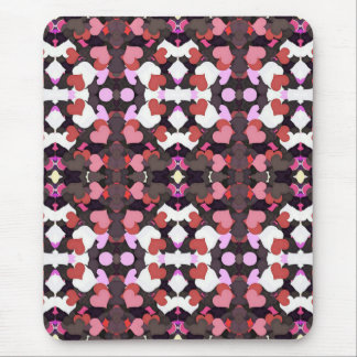 HEARTS WITH LOVE MOUSE PAD