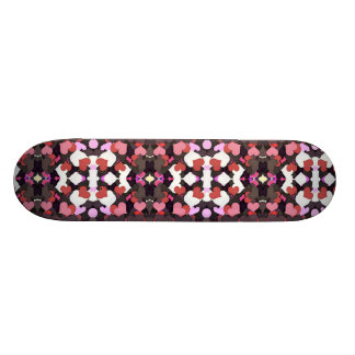 HEARTS WITH LOVE SKATE BOARD DECK