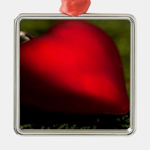 Heartshape Christmas Ornament Julgransdekorationer