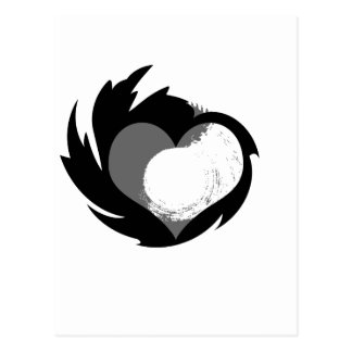 HeartSpin Postcard