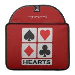 HeartsPlayer custom MacBook sleeve Sleeve For MacBooks