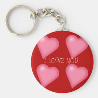 HeartsSmall[1], I LOVE YOU Keychain