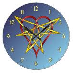 HeartStar Relojes De Pared