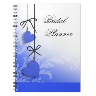Heartstrings Bridal Planner cobalt Notebook