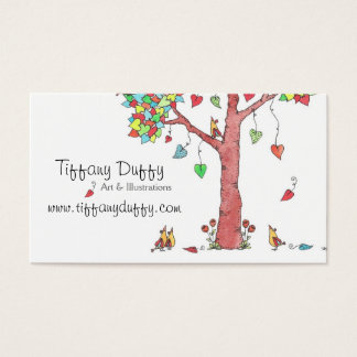 Heartstrings Business Card
