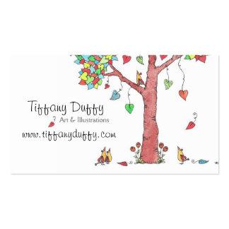 Heartstrings Business Card Template