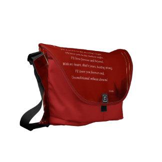 Heartstrings Courier Bag
