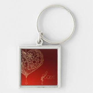 Heartstrings Keychain