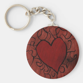 Heartstrings on a Keychain
