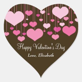 Heartstrings Valentine Sticker