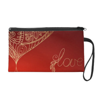 Heartstrings Wristlet Purse