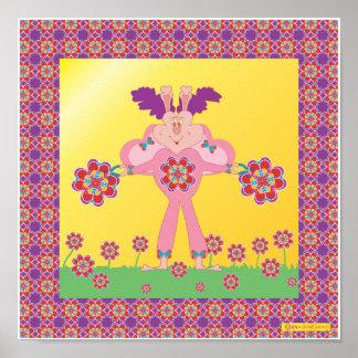 HeartThrob HeartMark HeartButterflies (TM) Poster
