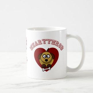Heartthrob - Valentine's Puppy Love Coffee Mug
