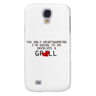 Heartwarming Grill Galaxy S4 Cases