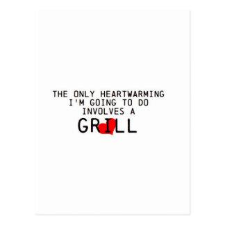 Heartwarming Grill Postcard