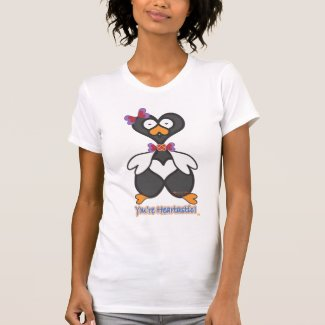 Heartwin (TM)--A Penguin from Planet Heart (TM) shirt