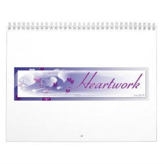 Heartwork 18 Month Calendar